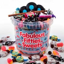 50s sweets bucket