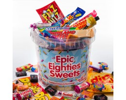 1980s Sweets Hamper - Epic Eighties Sweets Bucket