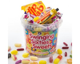 1960s Sweets Hamper - Swinging Sixties Sweets Bucket