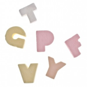 ABC Candy Letters