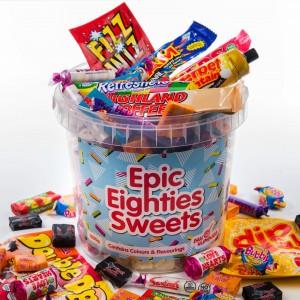 80s Sweets Bucket