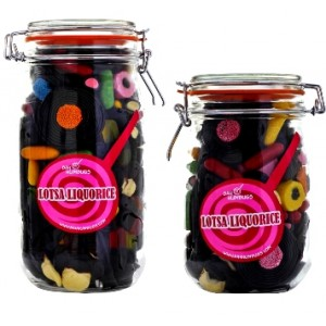 Liquorice Sweet Jar