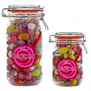 Best of British Sweet Jar