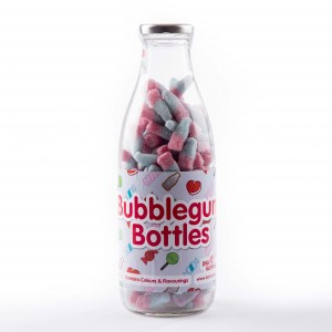 Fizzy Bubblegum Bottles Sweet Bottle
