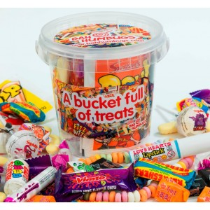 Retro Sweet Bucket of Treats