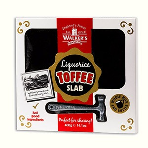Liquorice Toffee Slab