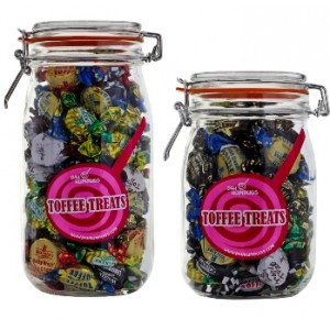 Toffee Sweets Jar