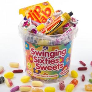 60s Sweet Bucket