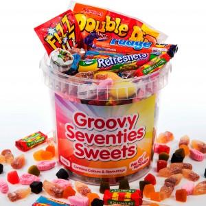 70s sweets bucket