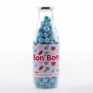 Blue Raspberry Bon Bons Sweet Bottle