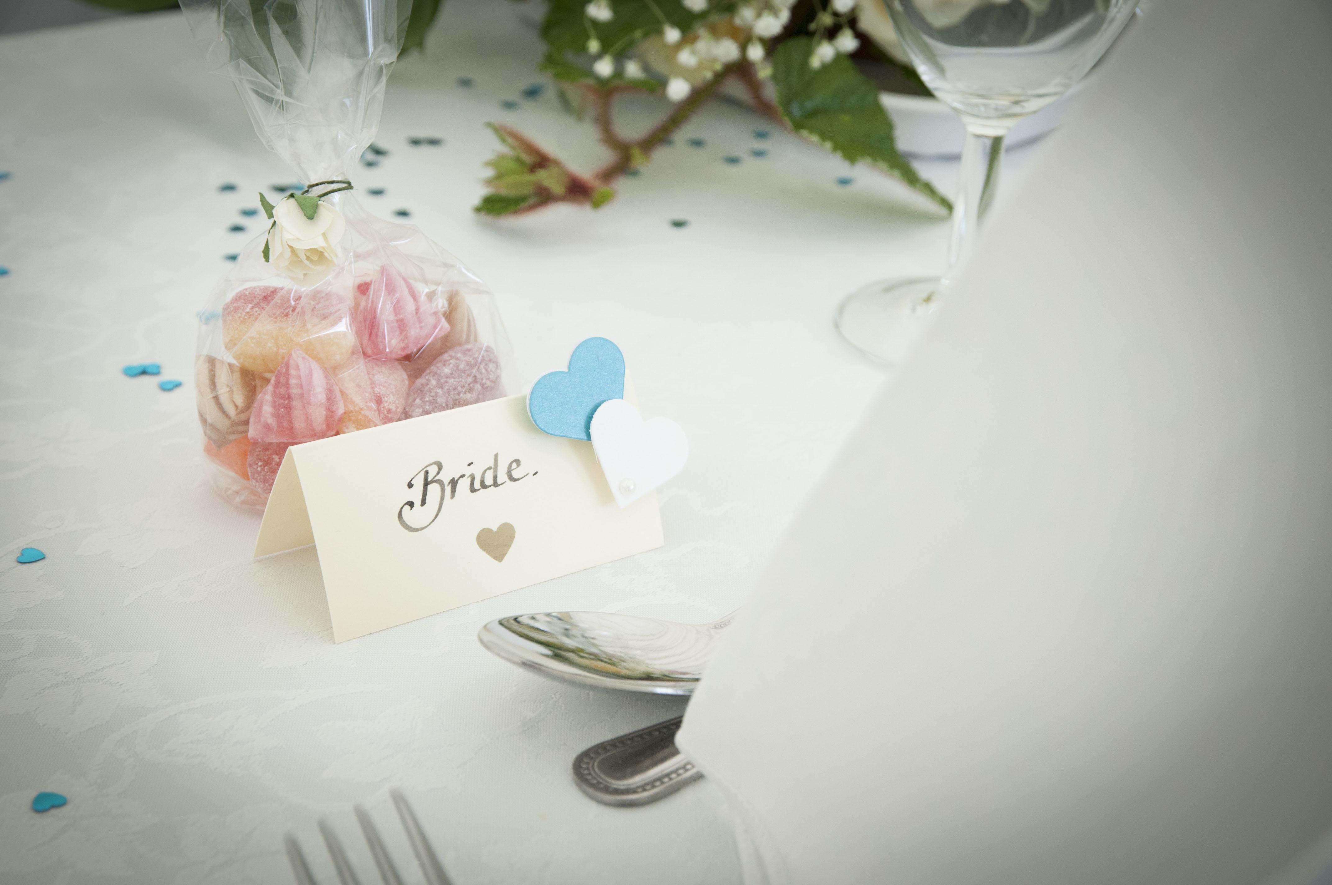 Bride favour