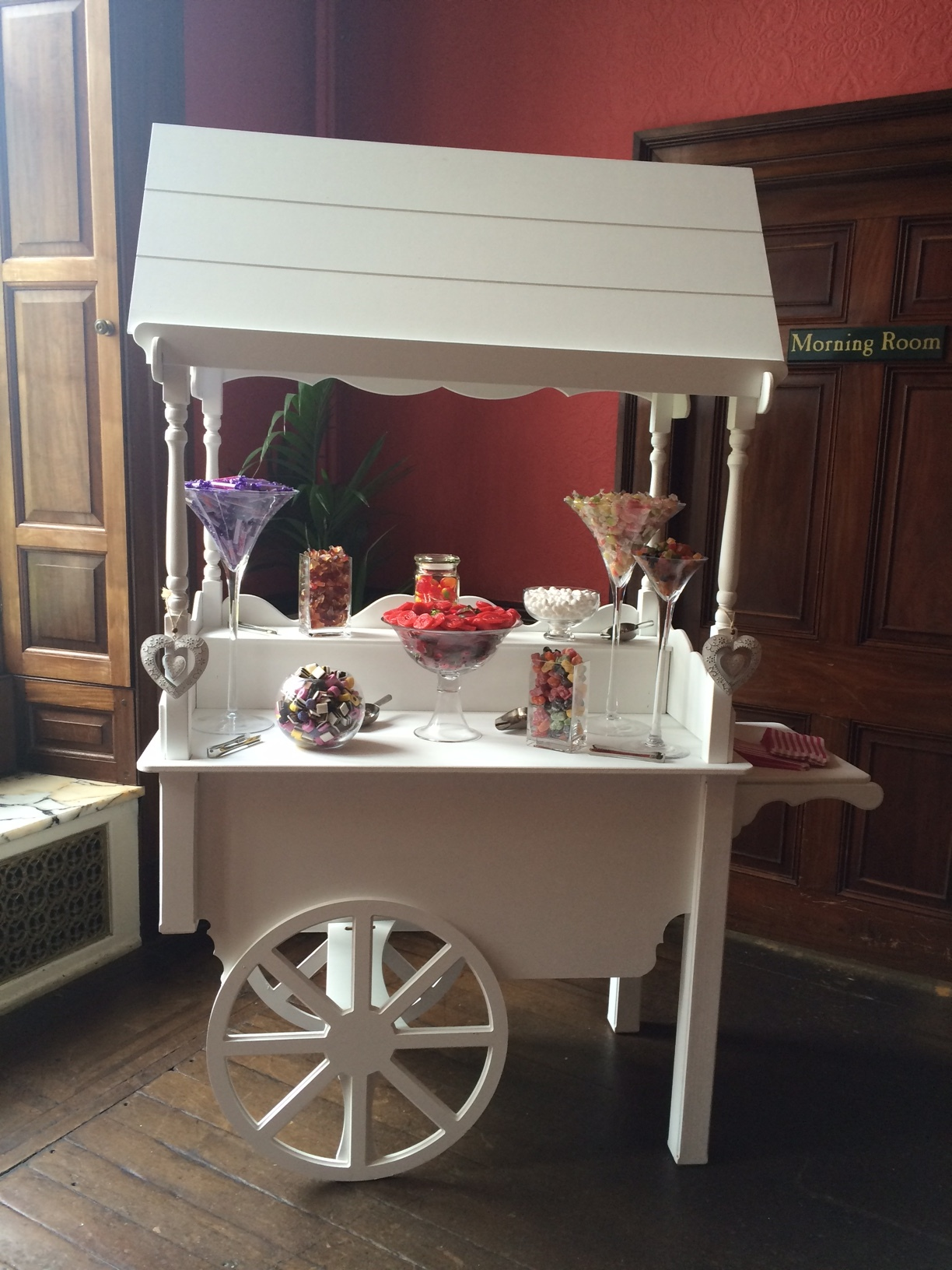 Swinton Park Wedding Sweet Cart